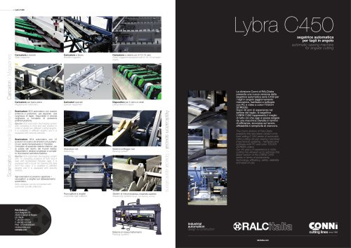 LYBRA - ANGLE CUTTING MACHINE