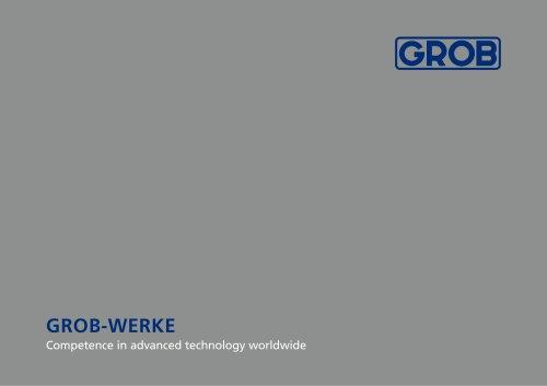 GROB Group brochure