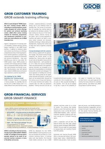 GROB International 17 - Service Inlay