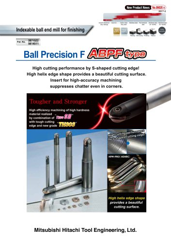 Ball Precision F ABPF type