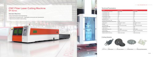 CNC Fiber Laser Cutting Machine---GF Series