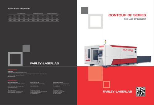 DF Serial laser cutting machine | Farley Laserlab