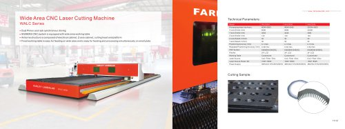 Farley  CNC Laser Cutting Machine--WALC 8020