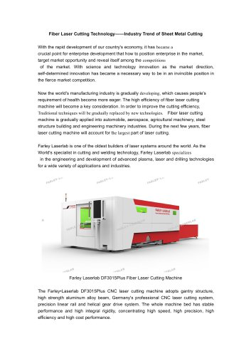 Farley Laserlab laser cutting machine