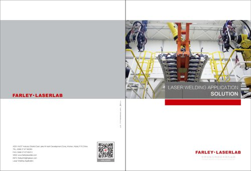 FARLEY LASERLAB LASER WELDING APPLICATION SOLUTION