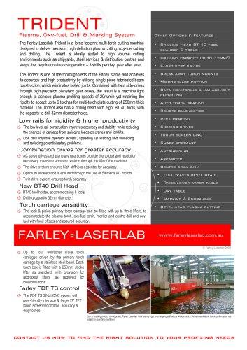 Farley Laserlab Trident Plasma Cutting MachineBrochure