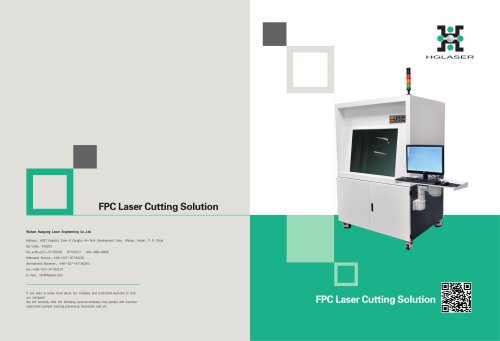 HGLaser FPC laser cutting machine