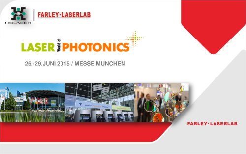 HGLASER SHINNING LASER WORLD OF PHOTONICS MUNICH