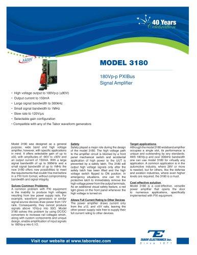 Model 3180