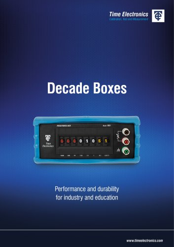 Decade Boxes Short Form
