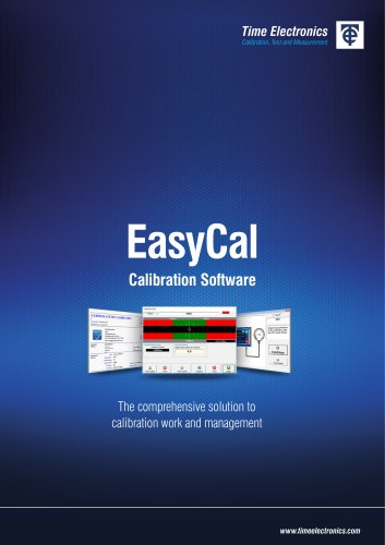 EasyCal Calibration Software Brochure