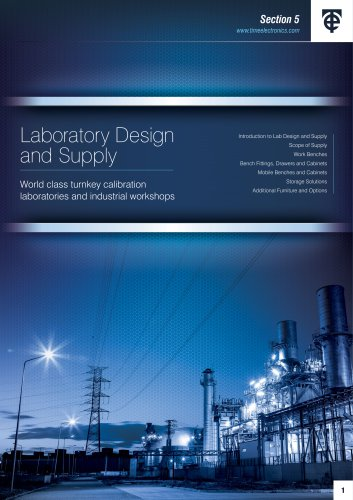Laboratory Design and Supply