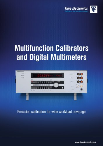 Multifunction Calibrators & DMMs