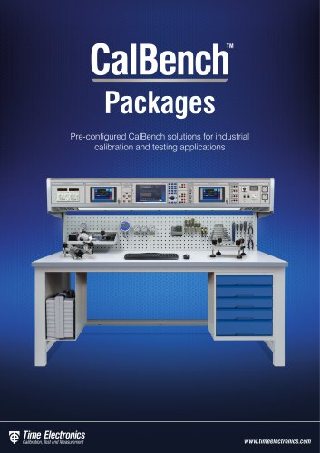 Time Electronics CalBench Packages