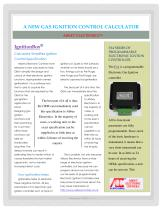 |A NEW GAS IGNITION CONTROL CALCULATOR