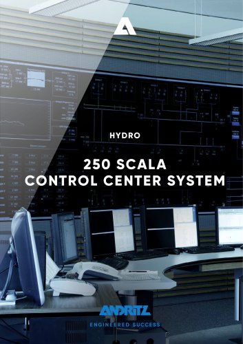 250 SCALA CONTROL CENTER SYSTEM