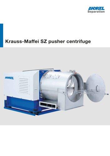 ANDRITZ Krauss-Maffei SZ pusher centrifuge