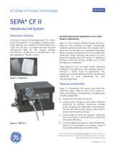 Sepa CF II Membrane Cell System