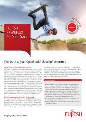 - FUJITSU Integrated System PRIMEFLEX for OpenStac