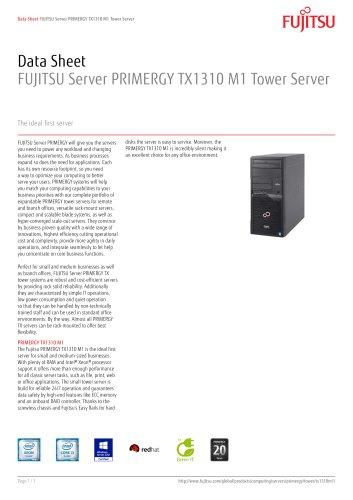 Data sheet - PRIMERGY TX1310 M1