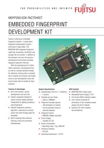 Embedded Fingerprint  Development Kit