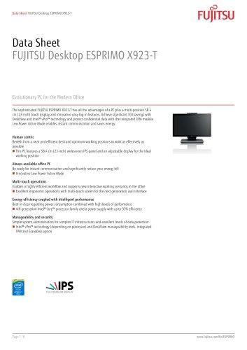 ESPRIMO-X923-T