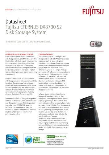 ETERNUS DX8700 S2