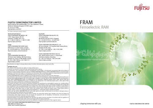 FRAM (All Products Catalog)
