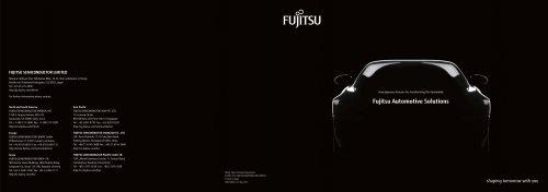 Fujitsu Automotive Solutions