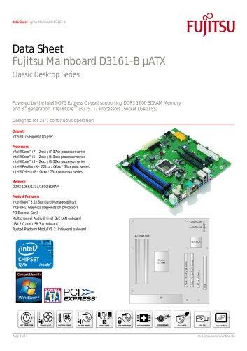 Fujitsu Mainboard D3161-B