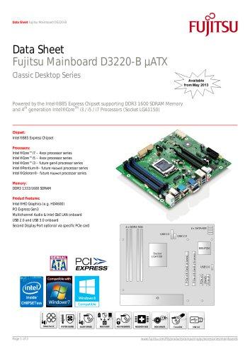Fujitsu Mainboard D3220-B