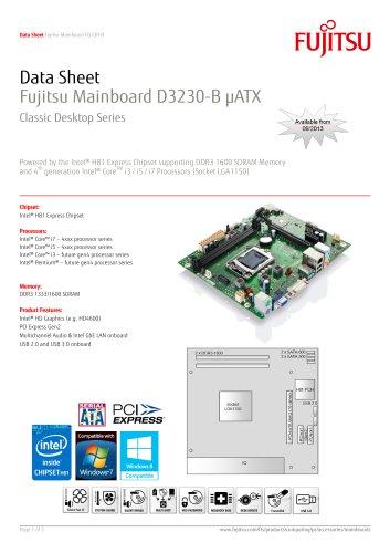 Fujitsu Mainboard D3230-B