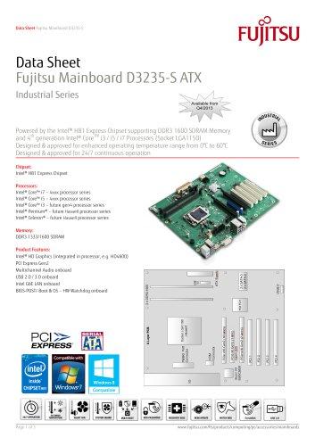 Fujitsu Mainboard D3235-S