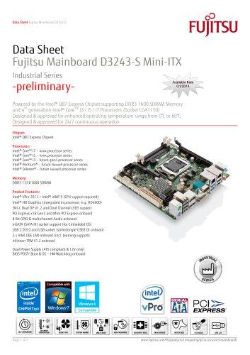 Fujitsu Mainboard D3243-S