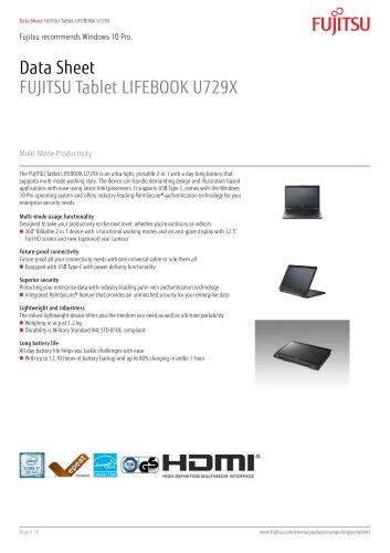 FUJITSU Tablet LIFEBOOK U729X
