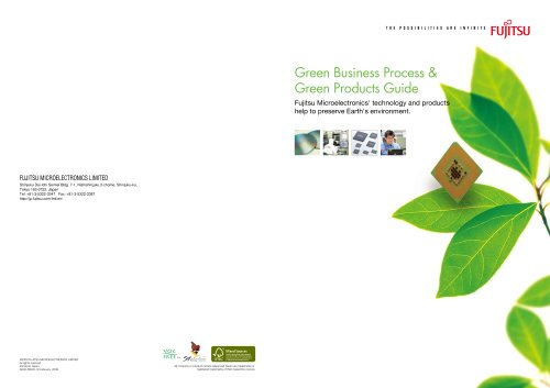Green Business Process & Green Products Guide