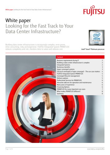 Looking for the Fast Track to Your Data Center Infrastructure?