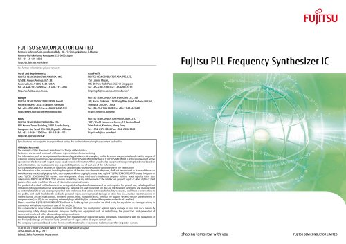 PLL Frequency Synthesizer IC (English version)