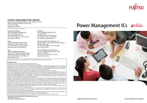Power Management ICs (All Products Catalog)