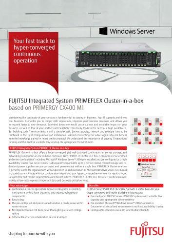 PRIMEFLEX Cluster-in-a-box