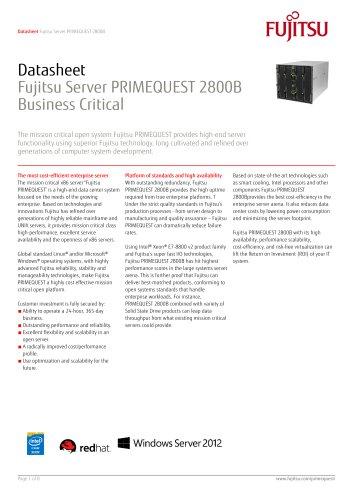 PRIMEQUEST 2800E2