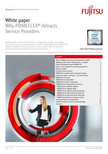 Why PRIMEFLEX® Attracts Service Providers
