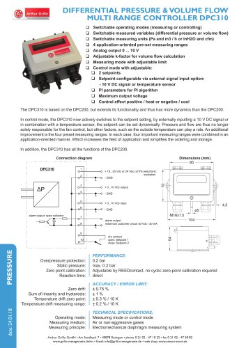 data sheet DPC310