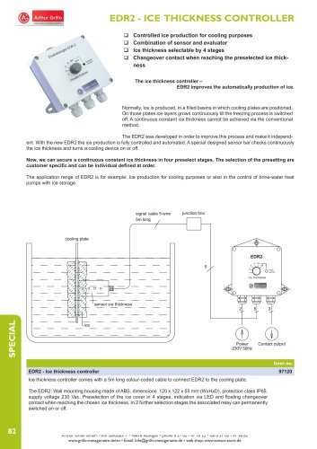 EDR2 - ICE THICKNESS CONTROLLER
