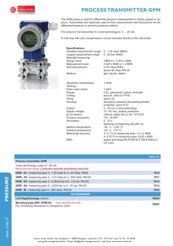 Process transmitter