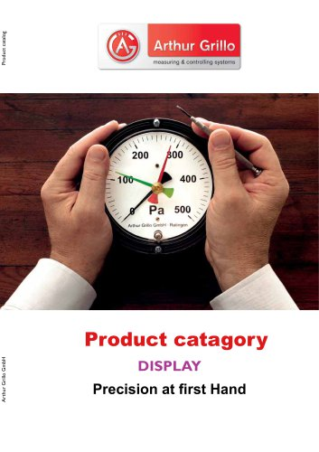 product category - display