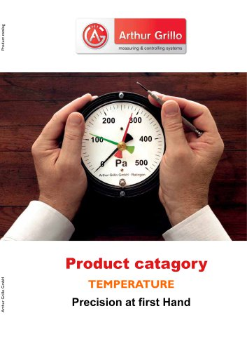 product category - temperature
