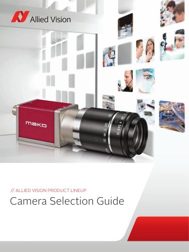 Allied Vision Camera Selection Guide