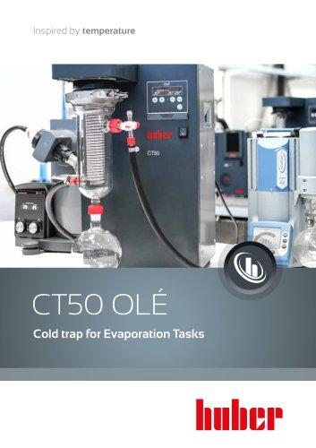 CT50 OLÉ - Cold trap for Evaporation Tasks