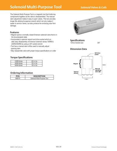 Solenoid Multi-Purpose Tool